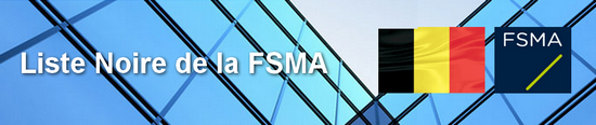 FSMA Liste noire Forex Options binaires