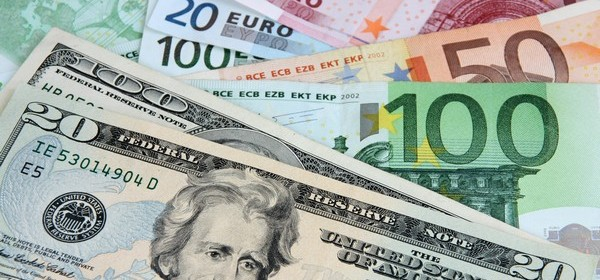 hausse du dollar face à l'euro gagner en bourse