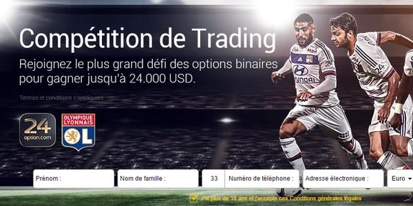 24 Option trading Lyon