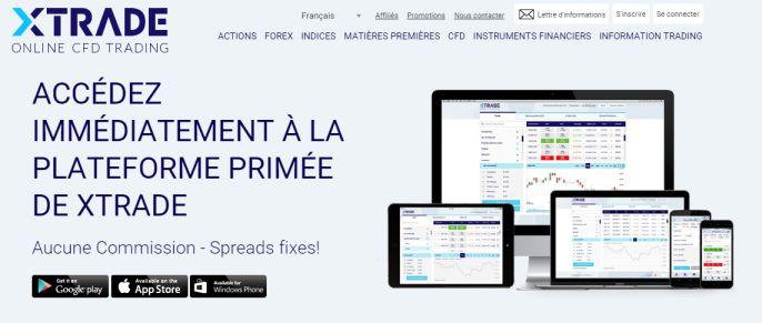 Avis Xtrade trading forex
